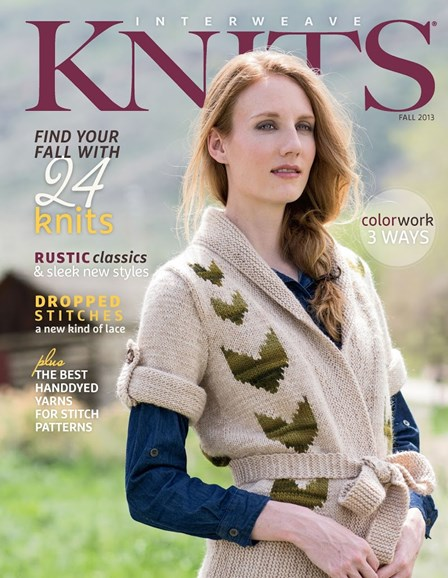 Interweave Knits Cover - 9/1/2013