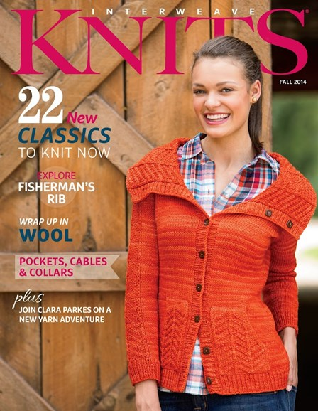 Interweave Knits Cover - 9/1/2014