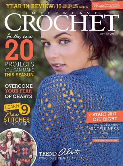 Interweave Crochet Cover - 12/1/2016