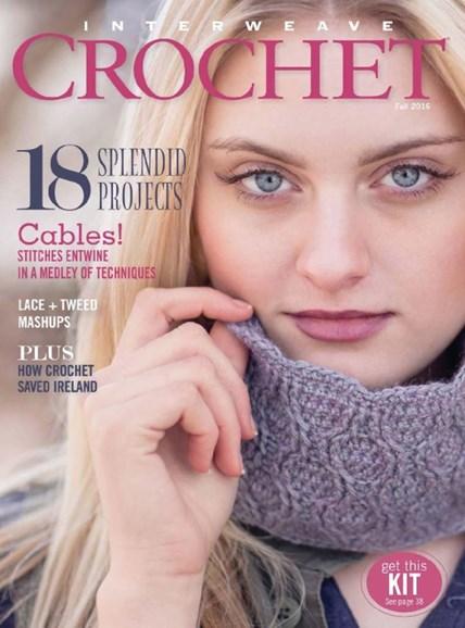 Interweave Crochet Cover - 9/1/2016