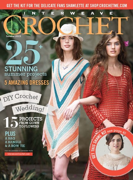 Interweave Crochet Cover - 6/1/2015