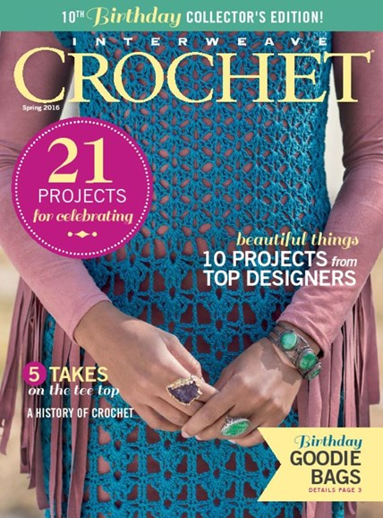 Interweave Crochet Cover - 3/1/2016