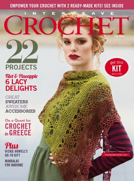 Interweave Crochet Cover - 9/1/2015