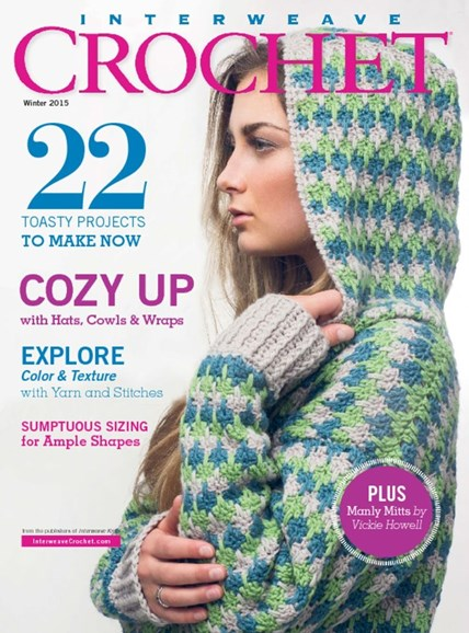 Interweave Crochet Cover - 12/1/2014
