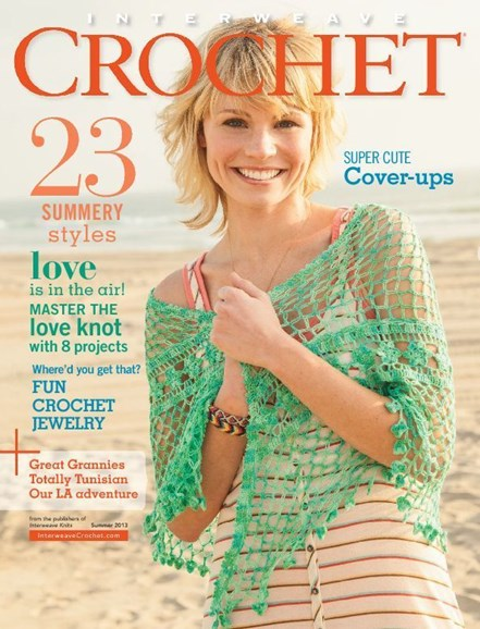 Interweave Crochet Cover - 6/1/2013