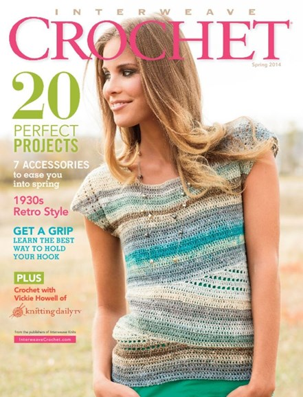 Interweave Crochet Cover - 3/1/2014