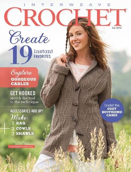 Interweave Crochet Cover - 9/1/2013