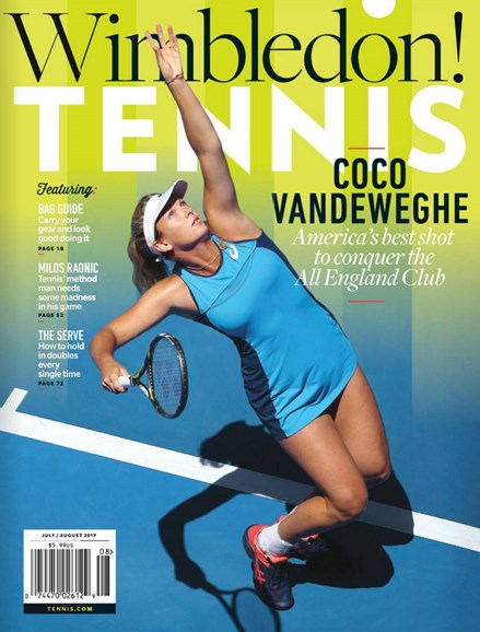 Tennis Magazine Cover - 7/1/2017