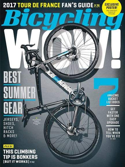 Bicycling Cover - 8/1/2017