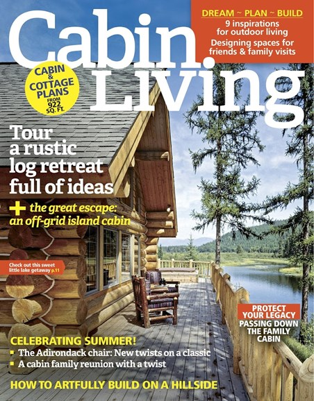 Cabin Living Cover - 7/1/2017