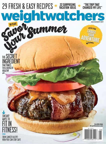 Weight Watchers Magazine Cover - 7/1/2017