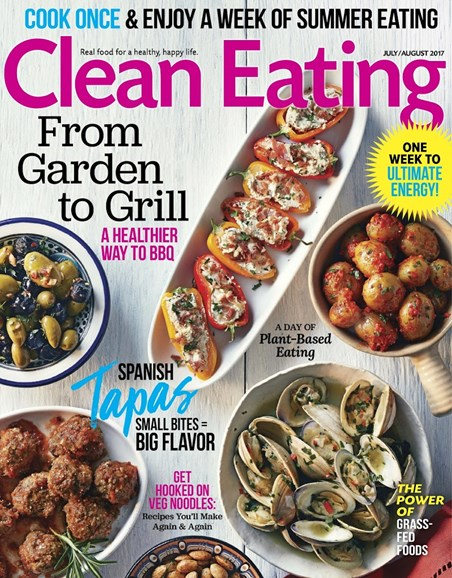 Clean Eating Cover - 7/1/2017