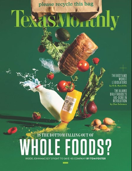 Texas Monthly Cover - 7/1/2017