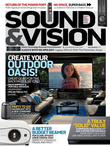 Sound & Vision Cover - 7/1/2017