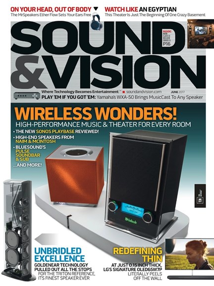 Sound & Vision Cover - 6/1/2017