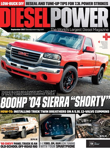Diesel Power Cover - 9/1/2017