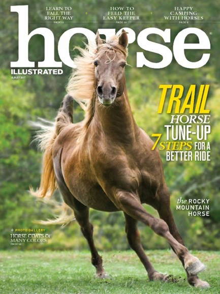 Horse Illustrated Cover - 8/1/2017