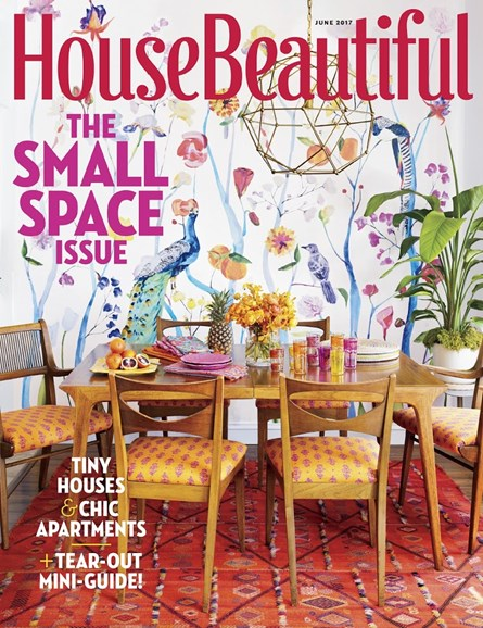 House Beautiful Cover - 6/1/2017