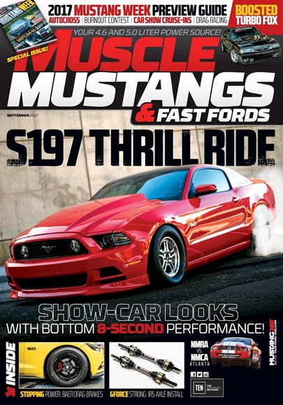 Muscle Mustangs & Fast Fords Cover - 9/1/2017