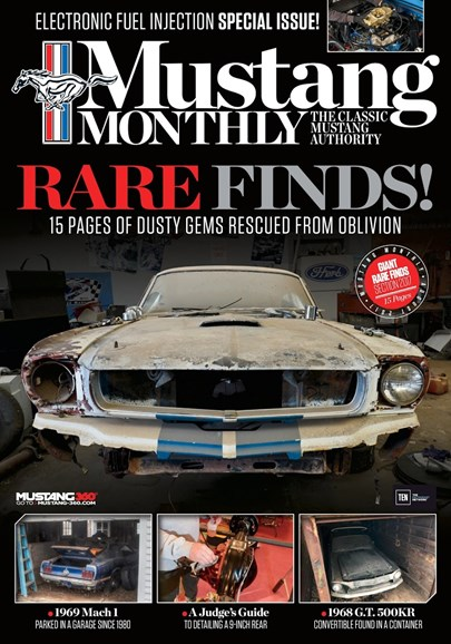 Mustang Monthly Cover - 8/1/2017