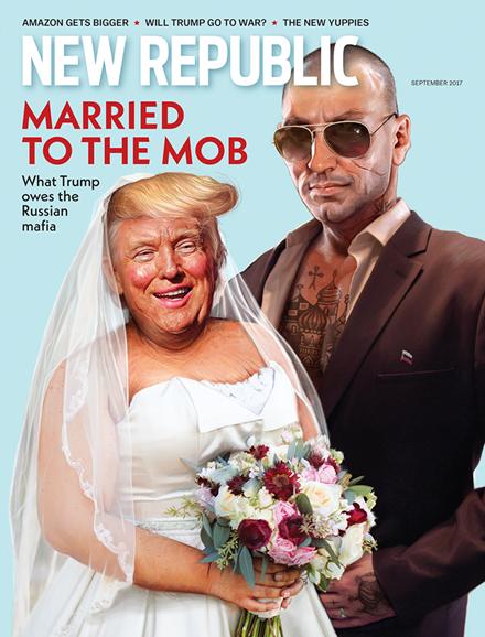The New Republic Cover - 9/1/2017