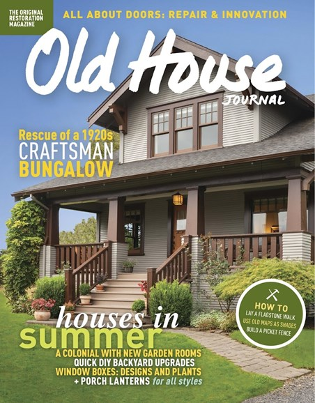 Old House Journal Cover - 7/1/2017
