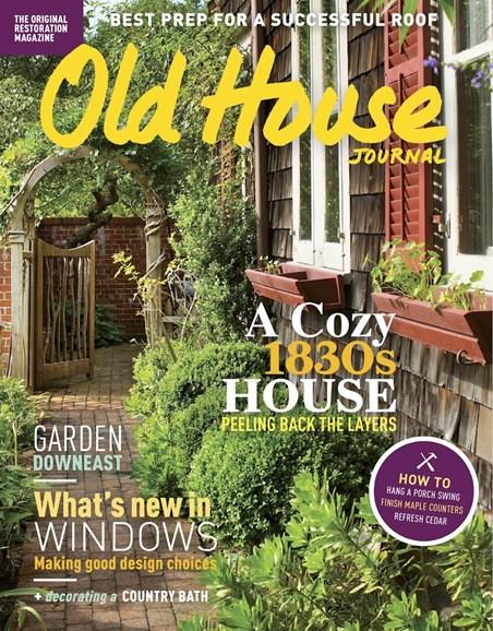 Old House Journal Cover - 6/1/2017