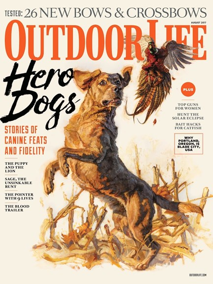 Outdoor Life Cover - 8/1/2017
