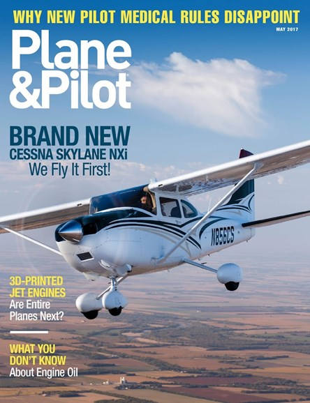 Plane & Pilot Cover - 5/1/2017