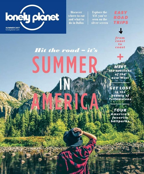 Lonely Planet Cover - 6/1/2017
