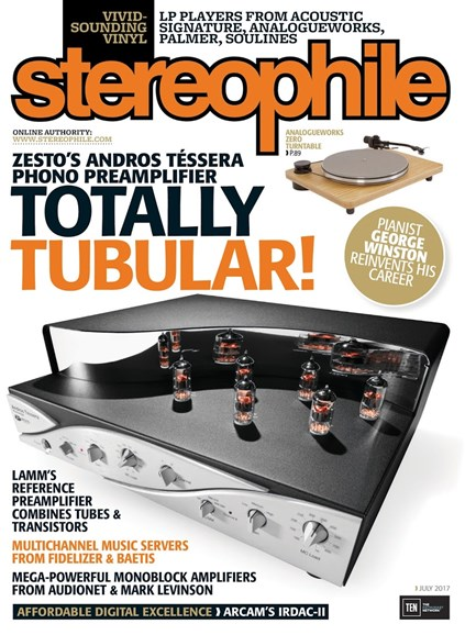 Stereophile Cover - 7/1/2017