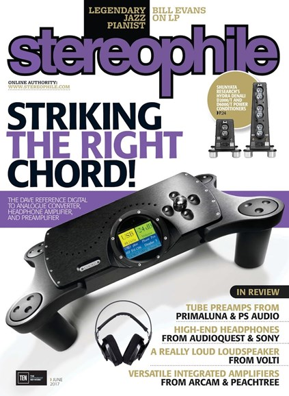 Stereophile Cover - 6/1/2017