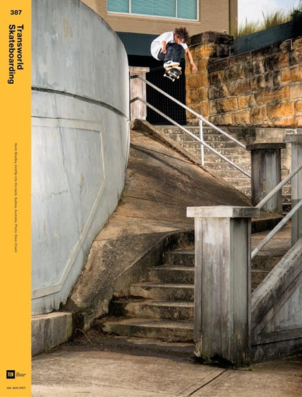 Transworld SKATEboarding Cover - 7/1/2017