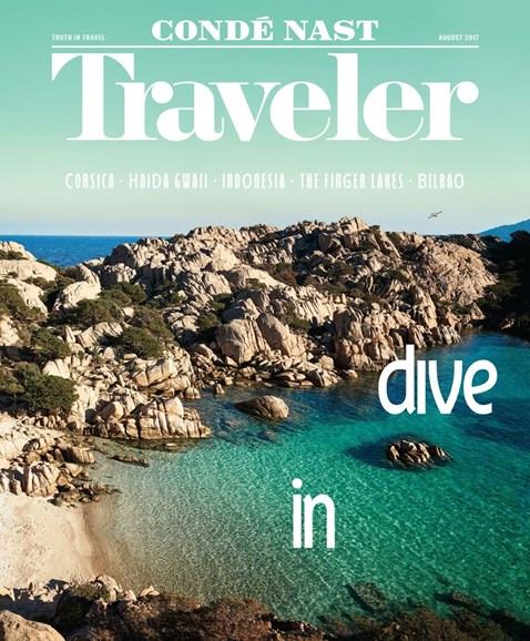 Condé Nast Traveler Cover - 8/1/2017