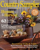 Country Sampler Magazine 9/1/2017
