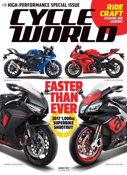 Cycle World Cover - 8/1/2017