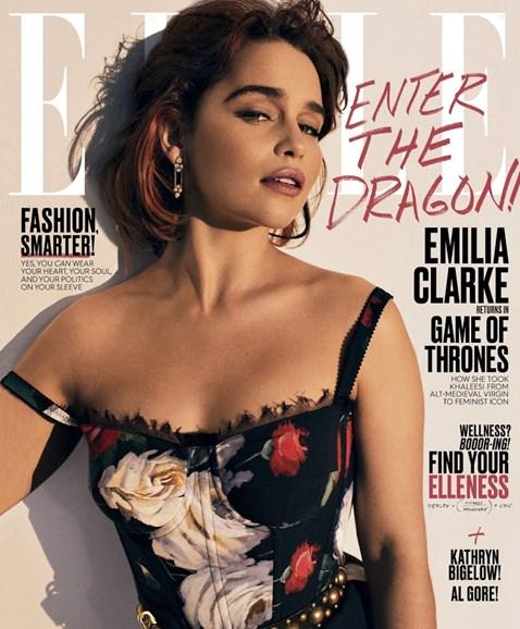 ELLE Cover - 8/1/2017