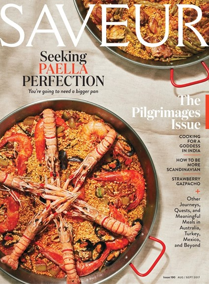 Saveur Cover - 8/1/2017