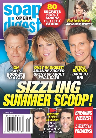 Soap Opera Digest Cover - 7/17/2017