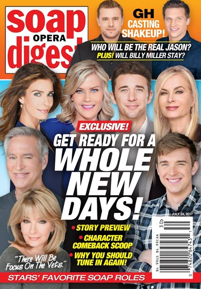 Soap Opera Digest Cover - 7/24/2017