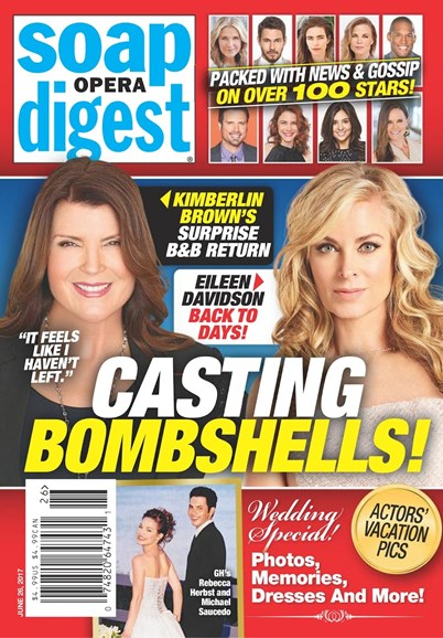 Soap Opera Digest Cover - 6/26/2017