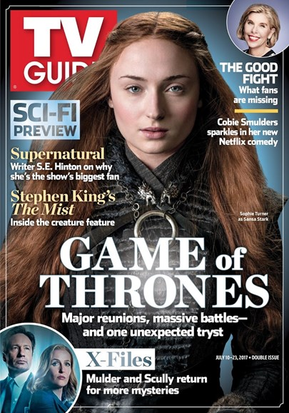 TV Guide Cover - 7/10/2017