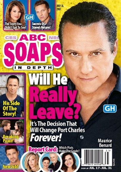 ABC Soaps In Depth Cover - 7/31/2017