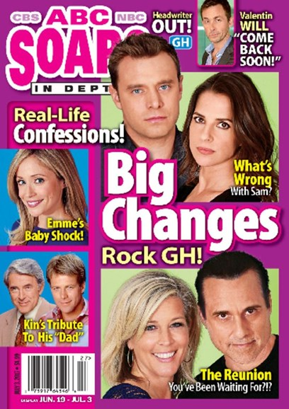 ABC Soaps In Depth Cover - 7/3/2017