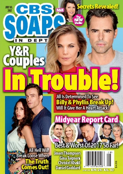 CBS Soaps In Depth Cover - 7/10/2017