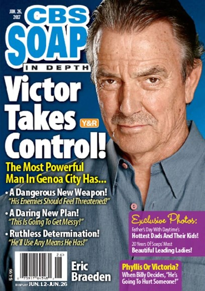 CBS Soaps In Depth Cover - 6/26/2017