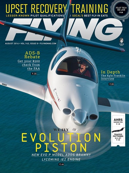 Flying Cover - 8/1/2016
