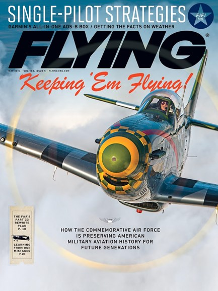 Flying Cover - 5/1/2016