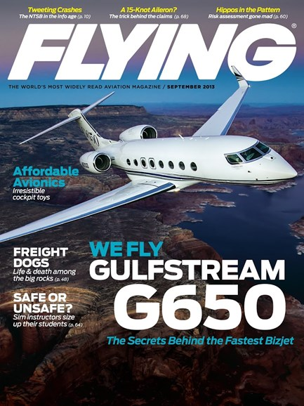 Flying Cover - 9/1/2013