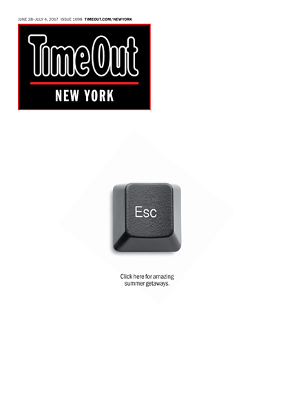 Time Out New York Cover - 6/28/2017
